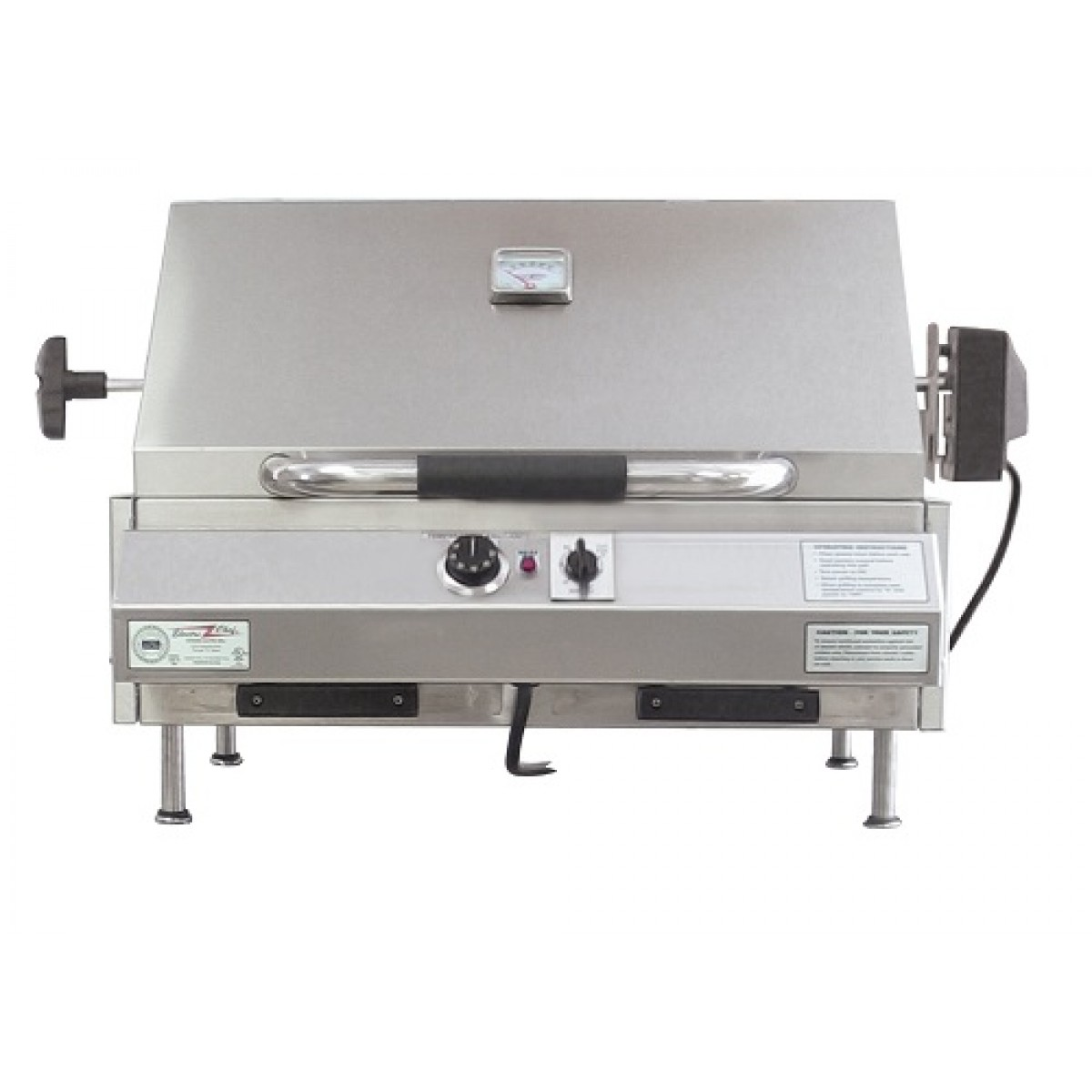 Electri chef 4400 series 24 table top barbecue grill - Table top barbecue grill ...