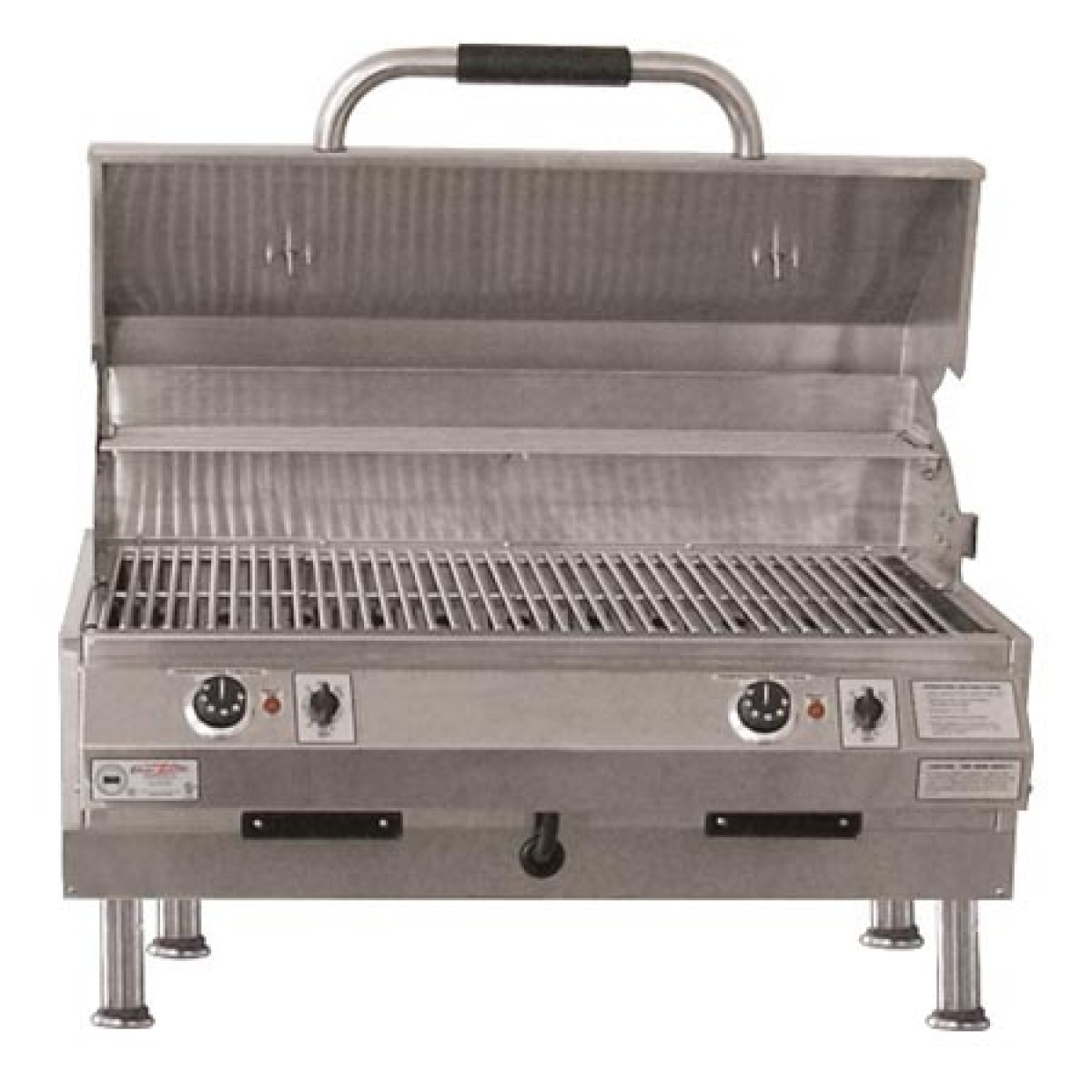Electri chef 4400 series 32in table top barbecue grill w dual temp control ibuybarbecues - Table top barbecue grill ...