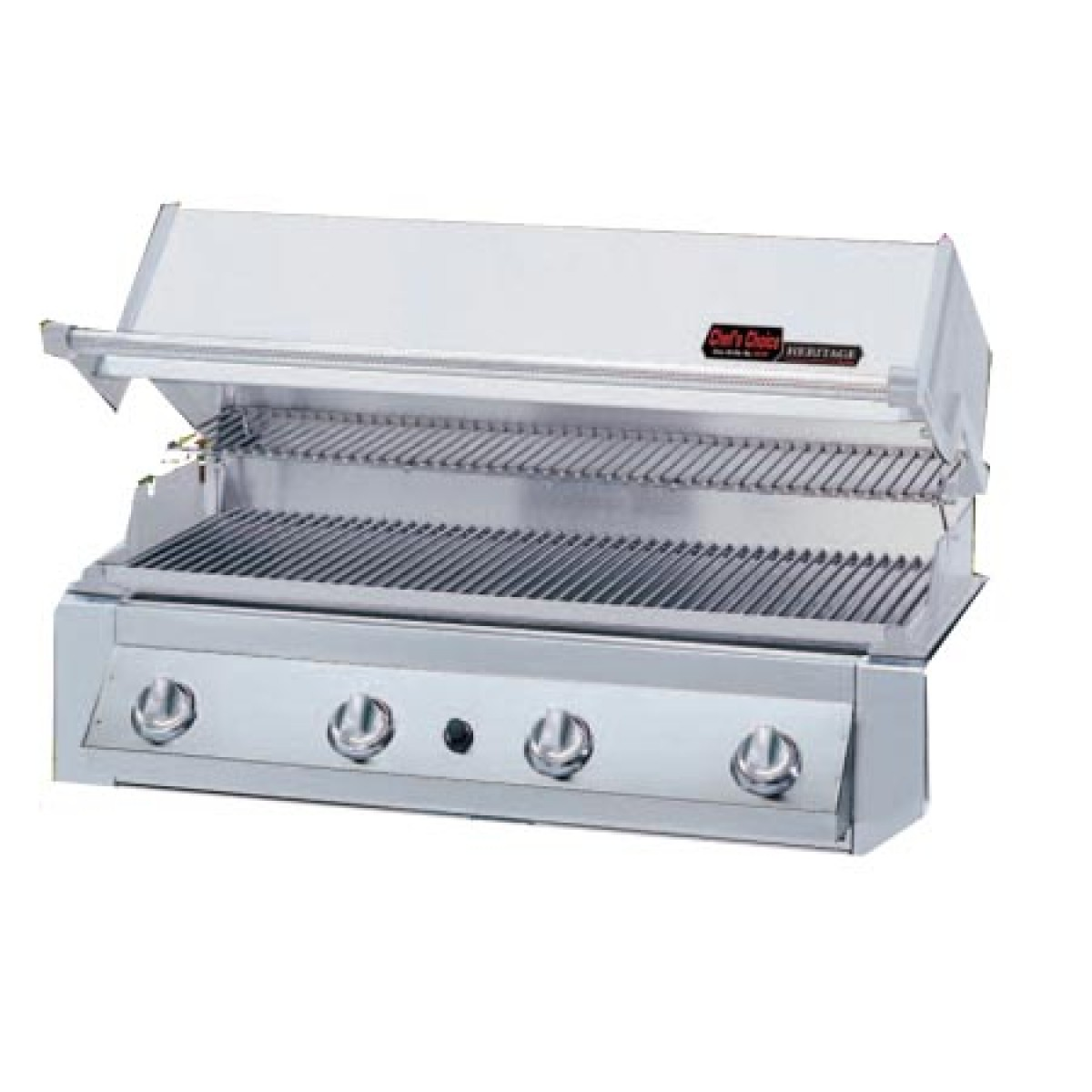 Mhp heritage series gjk 3 stainless steel gas grill - Barbecue stainless steel grill ...