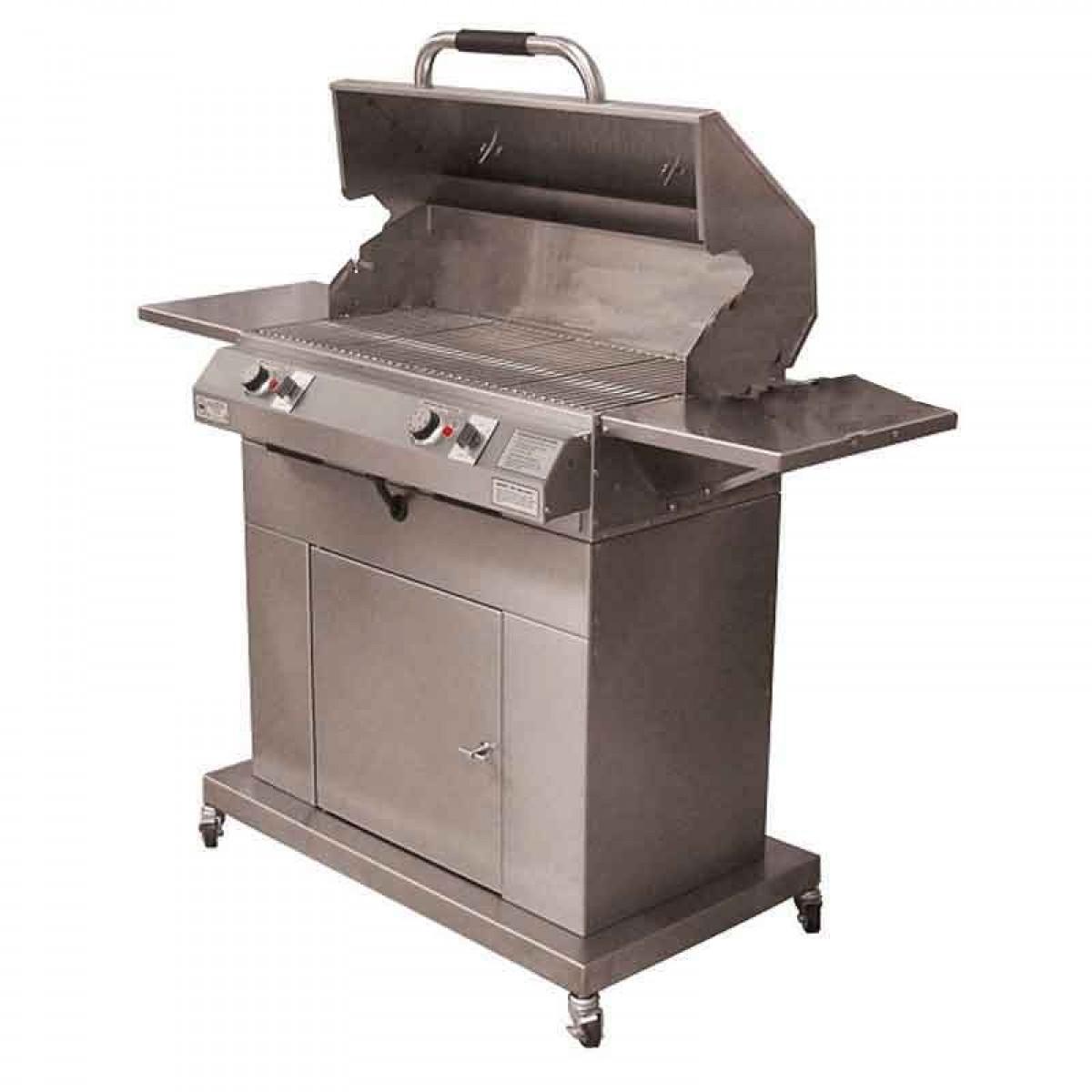 Electri Chef 4400 Series 32 Closed Base Barbecue Grill W Dual Temp Control