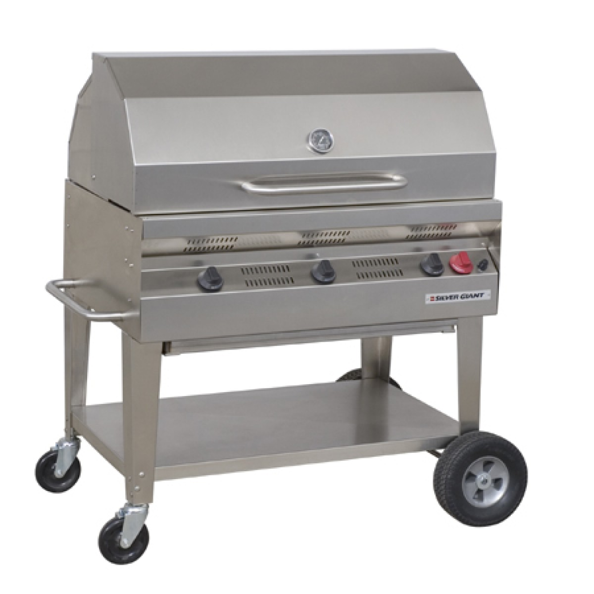 Flagro Silver Giant 60 Quot Commercial Lp Barbecue Grill At