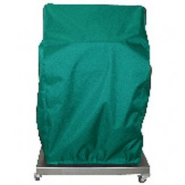 "Electri-Chef 48"" Hunter Green Closed Base Grill Cover"