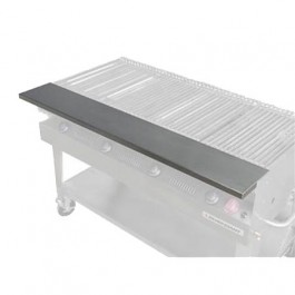"""Flagro Silver Giant 36"""" Stainless Front Shelf"""