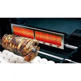 MHP RRB36-P Rear Rotisserie Burner for GJK Propane LP Gas Cart
