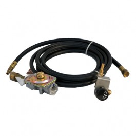 "Solaire SOL-NG-LP-42IV NG to LP Conversion Kit (orifices, fitting, reg/hose) - 42"",56"" AGBQ"