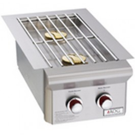 """American OutDoor Grill Built-In Double Side burner 25,000 Btu's """"L"""" Series-3282L"""