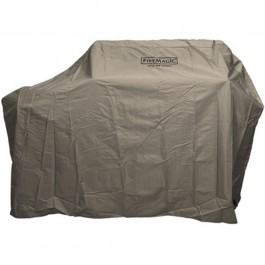FireMagic 512520F Grill Cover for Stand Alone w/Shelves Up (Side Burner) A43