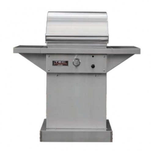 TEC Sterling Patio FR Series 26 inch NG Grill On Stainless Cart