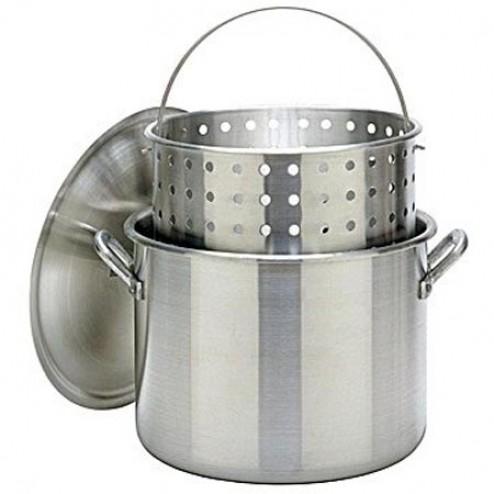 Bayou Classic 1000 100-Qt Boiler Stockpot & full size Basket