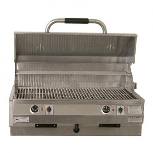 "Electri-Chef 4400 Series 32"" Marine Built-In Barbecue Grill w/ Dual Temp. Control"