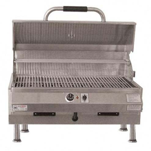 "Electri-Chef 4400 Series 32"" Table Top Barbecue Grill w/ Single Temp. Control"