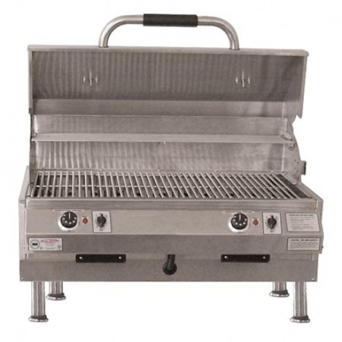 "Electri-Chef 4400 Series 32"" Table Top Barbecue Grill w/ Dual Temp. Control"