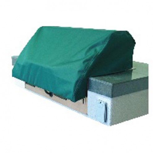"""Electri-Chef Hunter Green 16"""" Cover for Built-in Grill"""