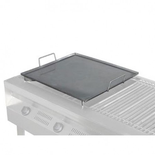 "Flagro Silver Giant 24"" Stainless Griddle"