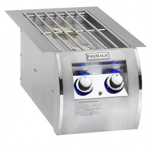 FireMagic 32814 Built-in Nat-Gas Double Side Burner