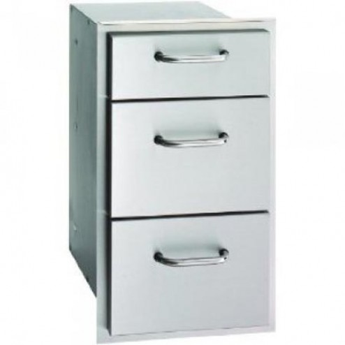 FireMagic 33803 26 1/4 inch x 14 1/2 inch Triple Drawer
