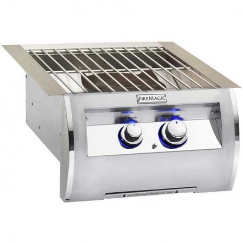 FireMagic 19-4B1N-0 NG Built-in Power Burner
