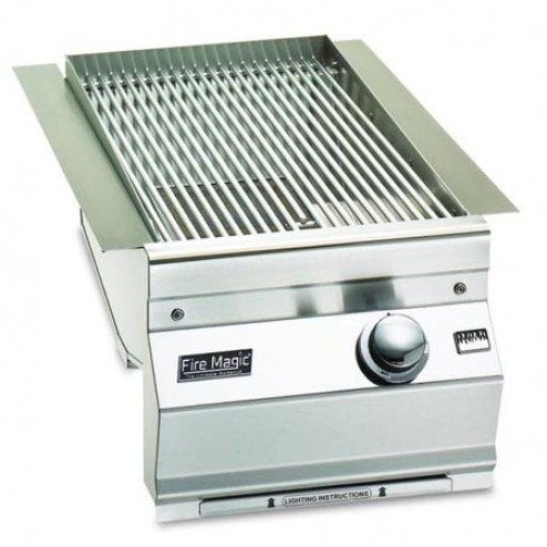 FireMagic 3287-1 NG Built-in Searing Station/Side Burner