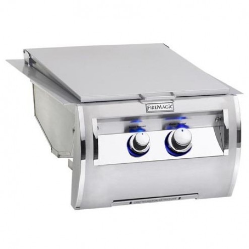 FireMagic 32884-1 Echelon Diamond Built-In NG Dual Searing Station