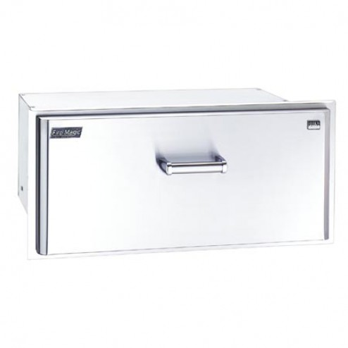 "FireMagic 43830-S 12 1/2"" x 301/2"" Masonry Drawer Outside Model"