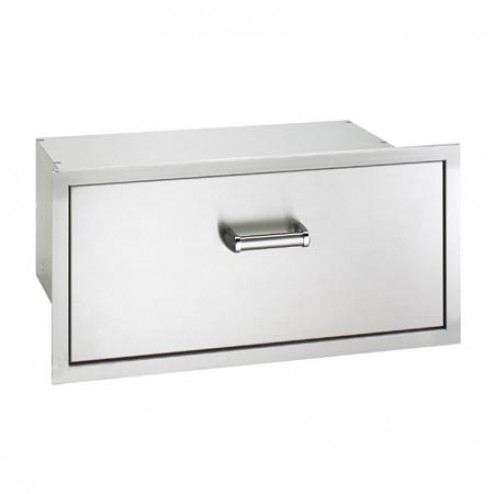 "FireMagic 53830SC 12 1/2"" x 301/2"" Flush Mounted Masonry Drawer"