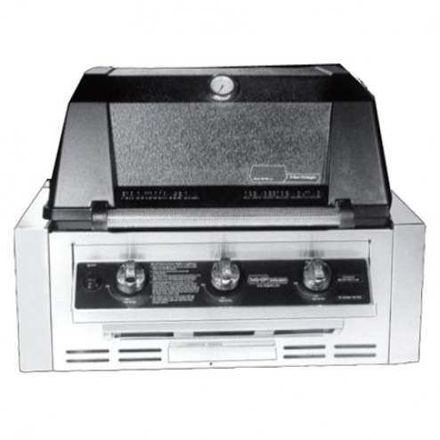 MHP WRG4DD-PS-NMS2-GS LP Infrared Built-in Grill