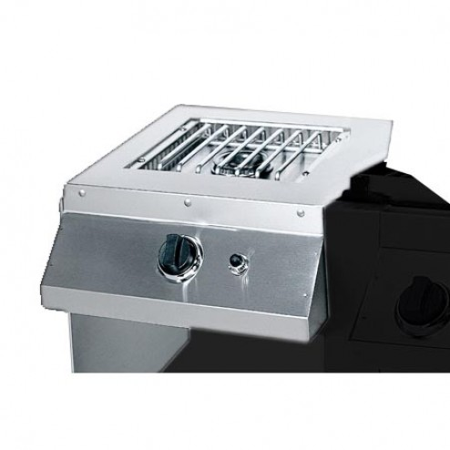 MHP SBG-N 18,000 BTU S.S. Side Burner-Nat-gas Gas