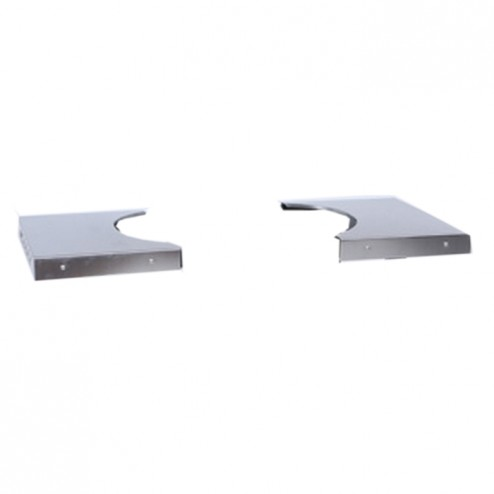 Primo 319 Stainless Steel Side Tables for Primo Cart Only Oval JR 200