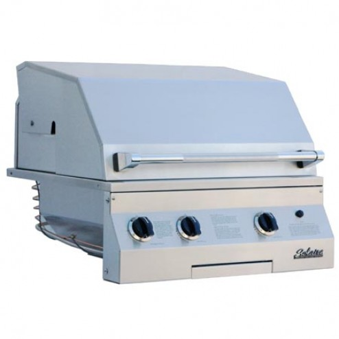 "Solaire SOL-AGBQ-27GVIXL 27"" Gas Deluxe InfraVection Built-In Grill"