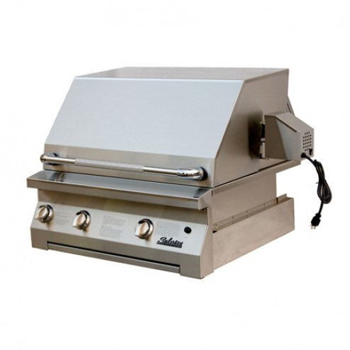 "Solaire SOL-AGBQ-30IR 30"" Gas Infrared Built-In Grill"