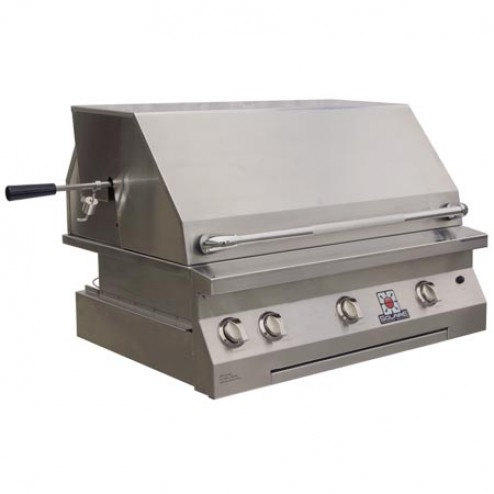 "Solaire SOL-AGBQ-36IR 36"" Gas Infrared Built-In Grill"