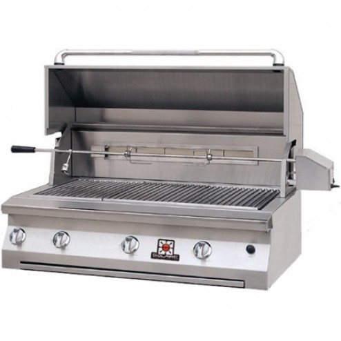"Solaire SOL-AGBQ-42VV 42"" Gas InfraVection Built-In Grill"