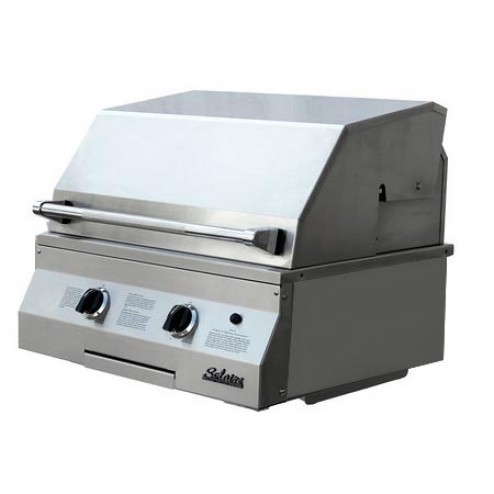 "Solaire SOL-IRBQ-27GVIXL 27"" Gas Deluxe InfraVection Built-In Grill"