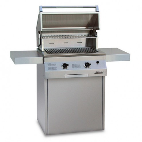 "Solaire SOL-IRBQ-27GXLC 27"" Gas Deluxe Convection Grill"