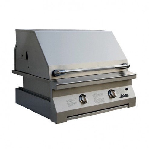 """Solaire SOL-IRBQ-30IR 30"""" Gas Infrared Built-In Grill"""