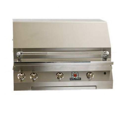 "Solaire SOL-IRBQ-36VI 36"" Gas InfraVection Built-In Grill"