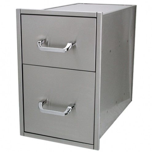"Solaire SOL-2D14S Two 14"" X 15"" Drawer Set"