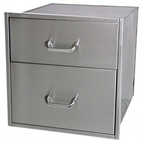 "Solaire SOL-2D21D Two 21"" X 23"" Drawer Set"