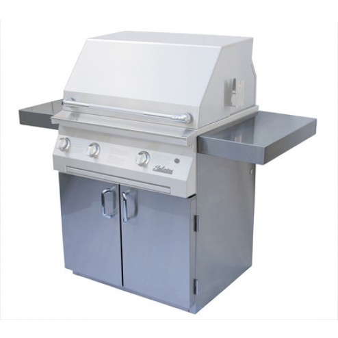 "Solaire SOL-IR-36C Standard Cart Only for 36"" Grills"