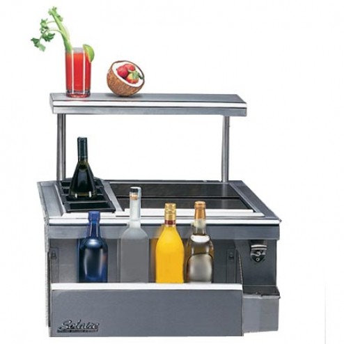 "Solaire SOL-IRDT-24 24"" Built-In Professional Bartender Center"