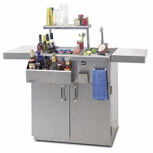 "Solaire SOL-IRDT-30C 30"" Cart Professional Bartender Center"