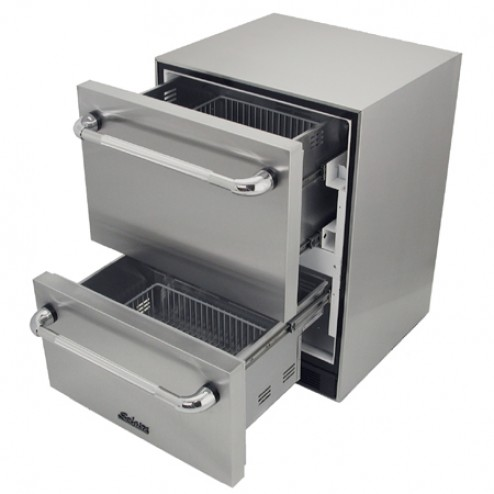Solaire SOL-SP6DS-2D-OS Refrigerated 2 Drawers Unit
