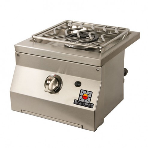 Solaire SOL-SSB-14-LP Single Built-In Side Burner - LP Gas
