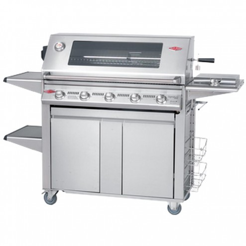 BeefEater Signature 3000S 5 Burner LP Grill w/Plus Trolley-19650US