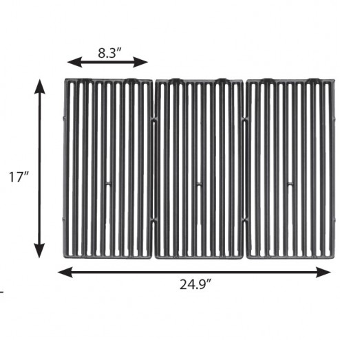 Broil King Cast Iron Cooking Grids 11224