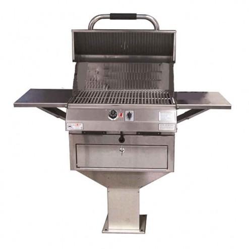 "Electri-Chef 4400 Series 24"" Pedestal Base Barbecue Grill"