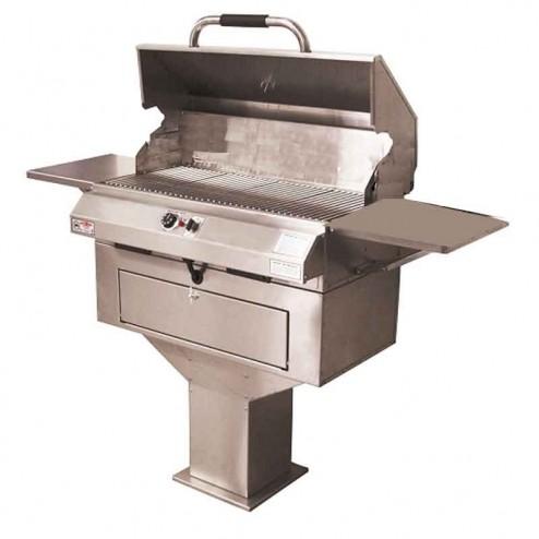 "Electri-Chef 4400 Series 32"" Pedestal Base Barbecue Grill w/ Single Temp. Control"