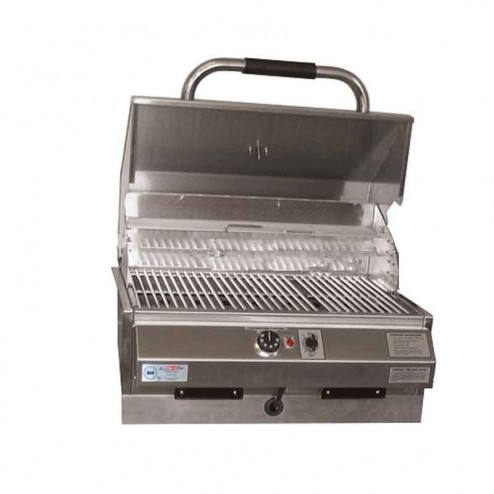 """Electri-Chef 4400 Series 24"""" Marine Built-In Barbecue Grill"""
