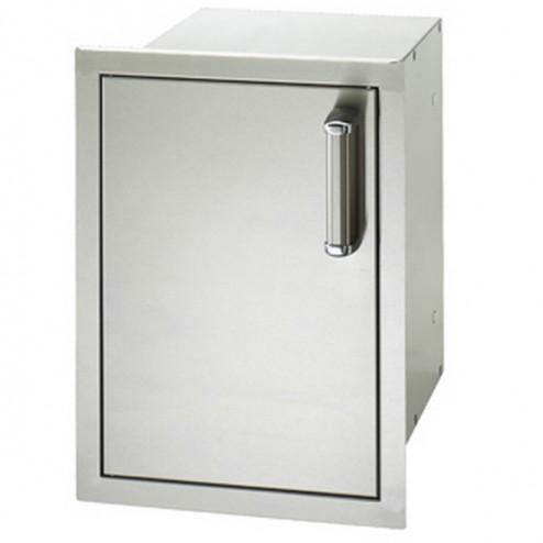 "FireMagic 53820SC-L 20 1/2"" x 14"" Flush Mounted Single Access Door w/ Dual Drawers"