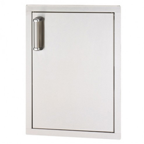 "FireMagic 53924SC-R 24 1/2"" x 17"" Flush Mounted Single Access Door RIGHT"